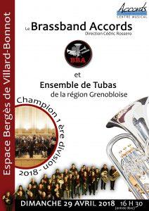 Concert BBA et ensemble de tubas @ Espace Bergès, Villard-Bonnot 38190